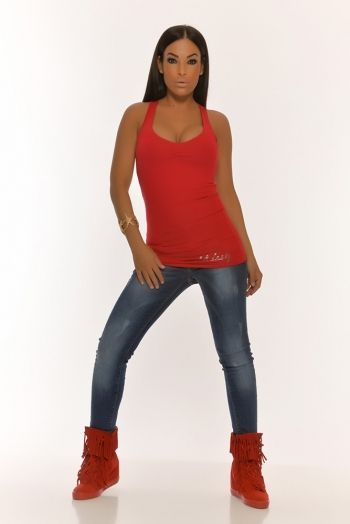 Camiseta Sofia Rojo