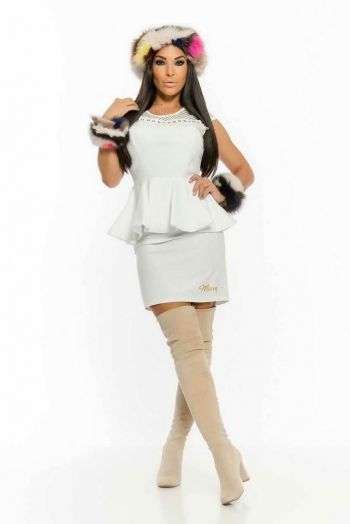Vestido Becca Blanco