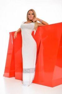 Vestido Hostess Maxi