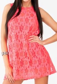 Vestido Simona Coral