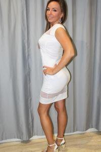 Vestido T. Encaje B